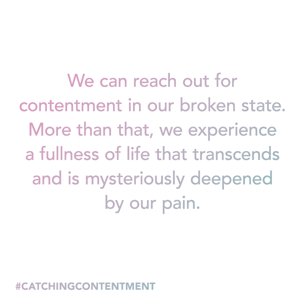Ruth van den Broek shares her thoughts on Catching Contentment by Liz Carter
